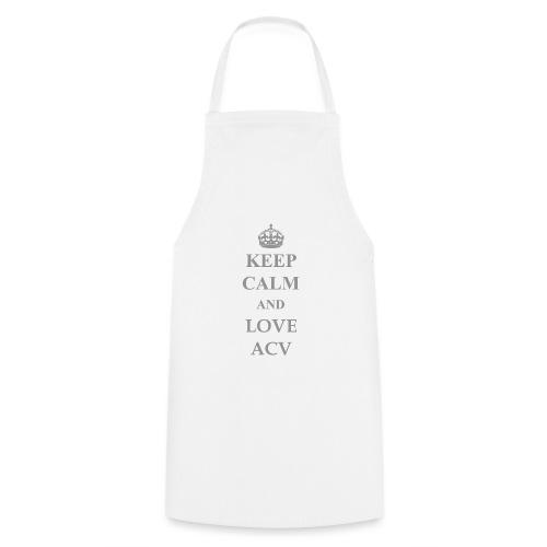 Keep Calm and Love ACV - Schriftzug - Kochschürze