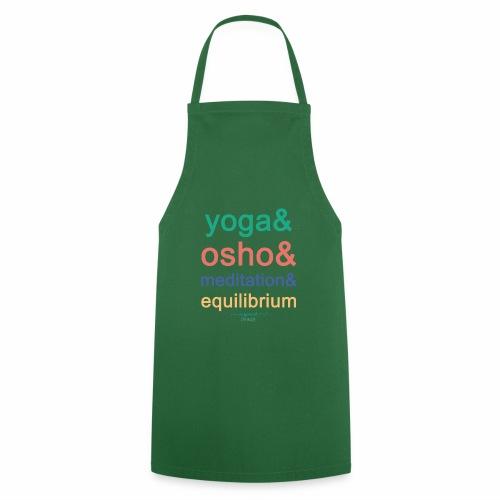 Yoga& Osho& Meditation& Equilibrium - Cooking Apron