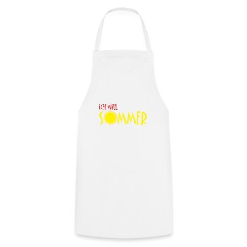 Ich will Sommer - Kochschürze