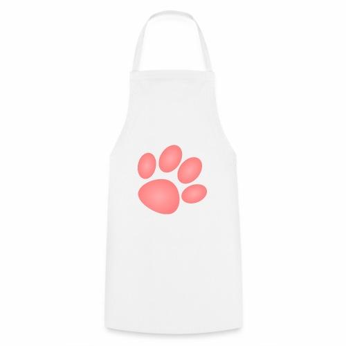 Patte rose, chien chat - Tablier de cuisine