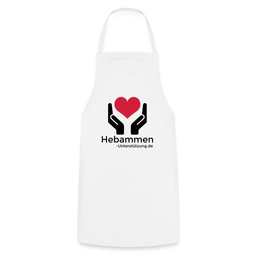 Logo Hebammen Unterstützung de schwarz groß - Kochschürze