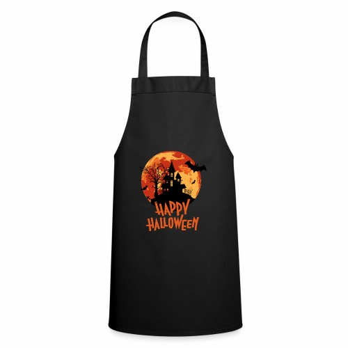 Bloodmoon Haunted House Halloween Design - Kochschürze