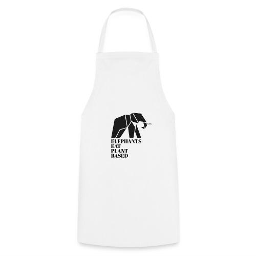 Elephants Eat Plant Based - Kochschürze