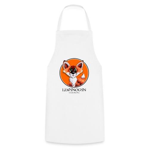 llwynogyn - a little red fox (black) - Kochschürze