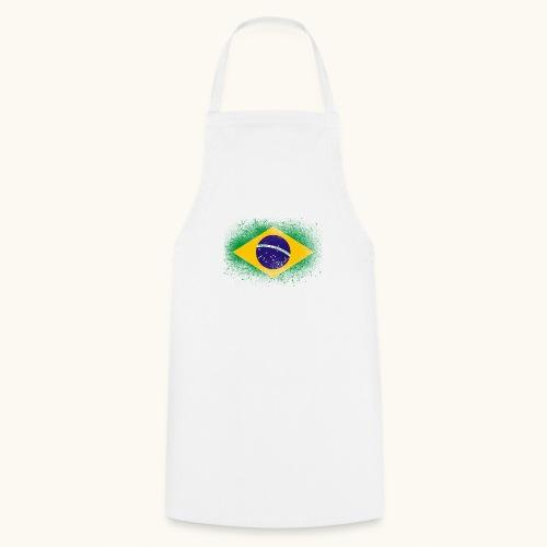 Drapeau brésilien cadeau du Brésil - Tablier de cuisine