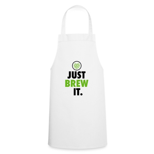 Just Brew It - Brewers Gift Idea - Cooking Apron