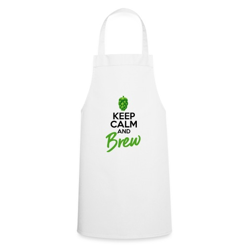 Keep Calm and Brew - Brewers Gift Idea - Cooking Apron