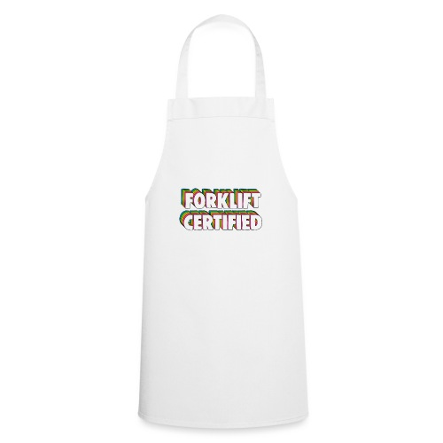 Forklift Certification Meme - Cooking Apron