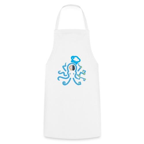 DT3 Octopus - Blue - Kochschürze