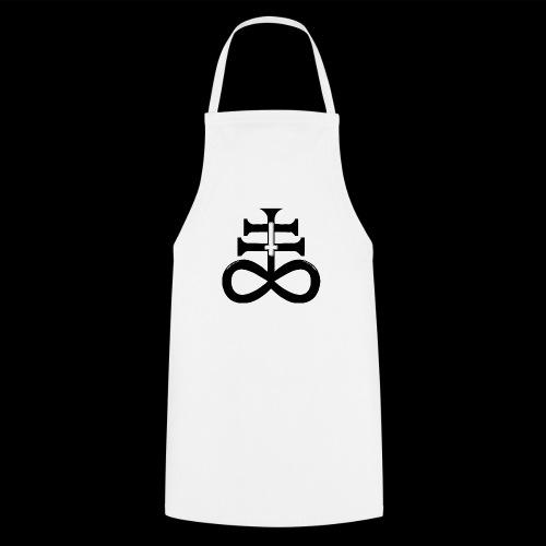 satanic cross - Cooking Apron