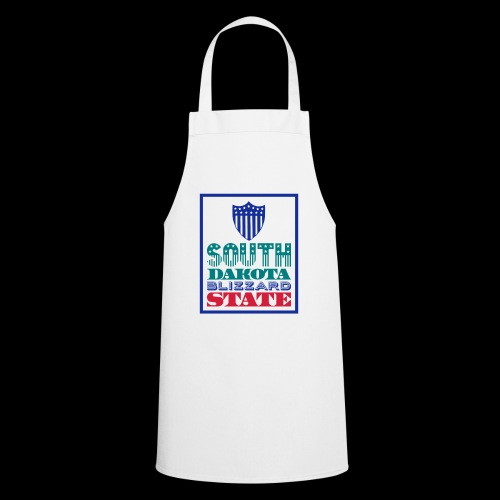 South Dakota blizzard state - Cooking Apron