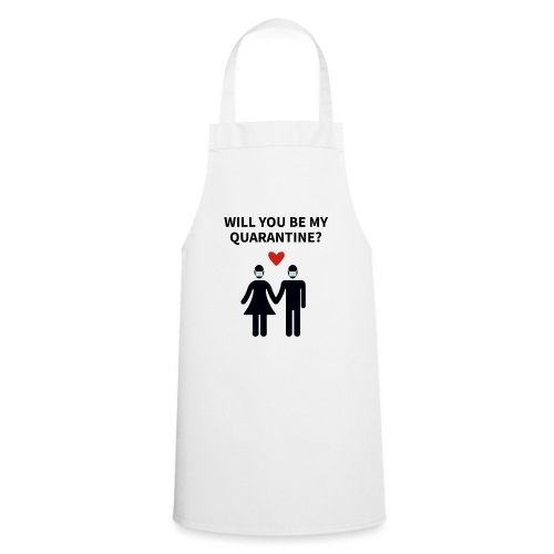 Liebespaar mit Schriftzug - Kochschürze