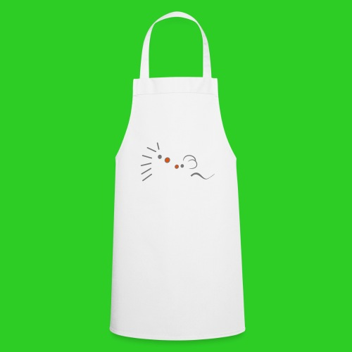 Igel und Maus abstrakt - Kochschürze