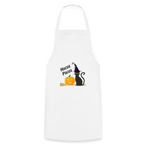 Svart katt och pumpa halloween - Förkläde