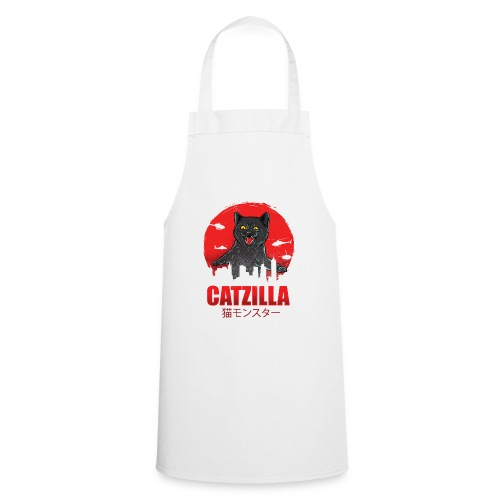 Catzilla Katzen Horror B-Movie Parodie - Kochschürze