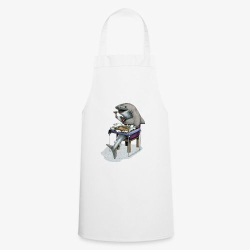Shark's Fish and Chip dinner - Cooking Apron