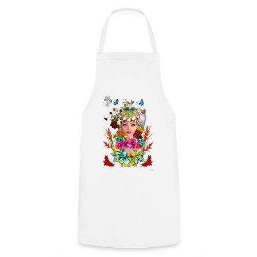 Lady spring - By t-shirt chic et choc - Tablier de cuisine