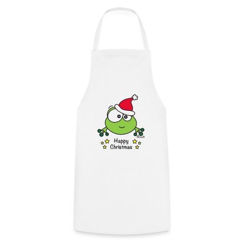 Grenouille, Frog, Fêtes Nôel, Happy Christmas - Tablier de cuisine