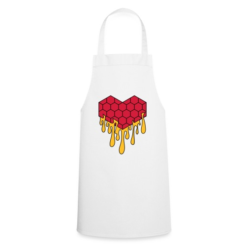 Honey heart cuore miele radeo - Grembiule da cucina