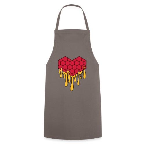 Honey heart cuore miele radeo - Grembiule da cucina