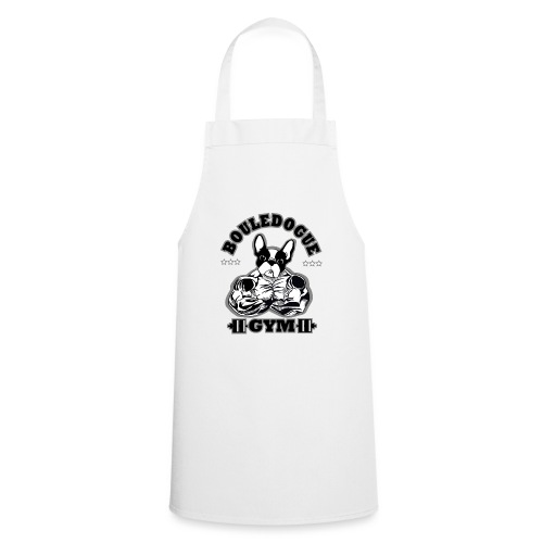 bouledogue gym - Tablier de cuisine