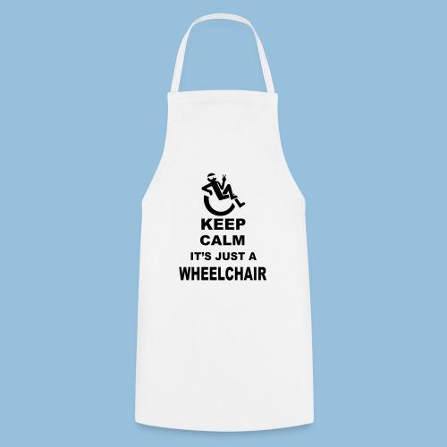 Keepcalmjustwheelchair2 - Keukenschort