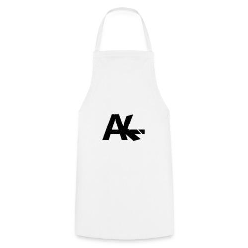 Logo de la team AIKE style trait blanc - Tablier de cuisine