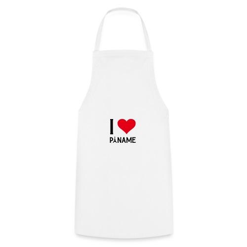 I love Paname - Tablier de cuisine