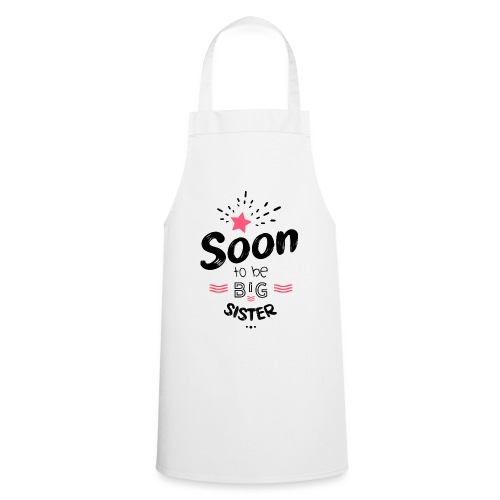 Soon to be big sister - Tablier de cuisine
