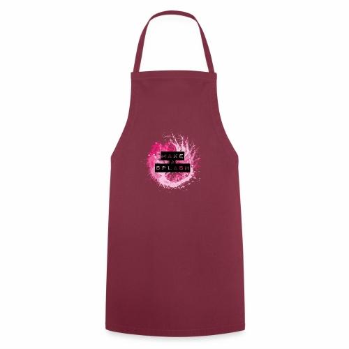 Make a Splash - Aquarell Design - Kochschürze