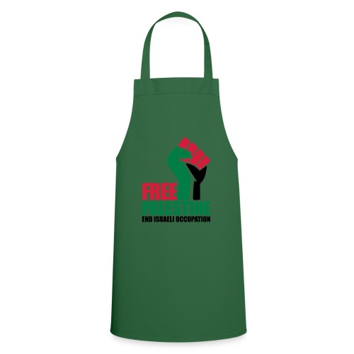 Free Palestine End Israeli Occupation - Cooking Apron
