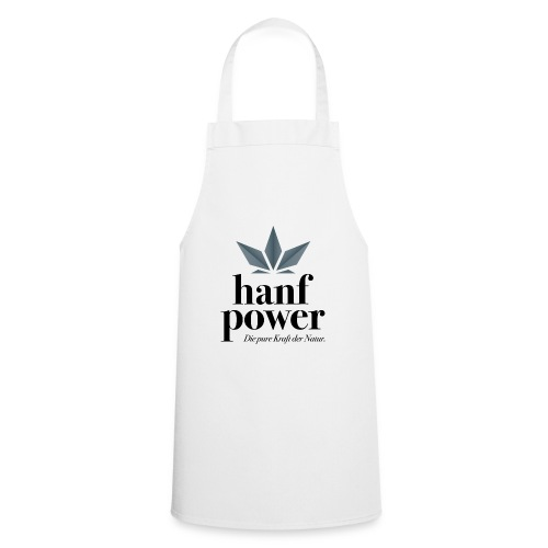 Hanf Power Logo - Kochschürze