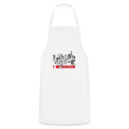 I LOVE LONDON SKYCRAPERS - Delantal de cocina