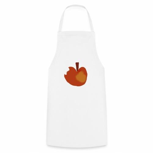 Apfel abgebissen - Kochschürze