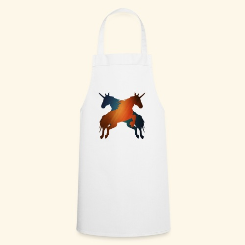 Magical Unicorns leaping - Cooking Apron