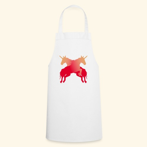 Unicorns Magical fairy tale lucky mane - Cooking Apron