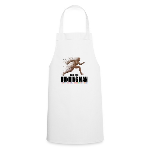 I am the Running Man - Sportswear for real men - Cooking Apron