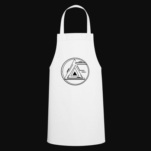 Al Frontal black Logo - Kochschürze