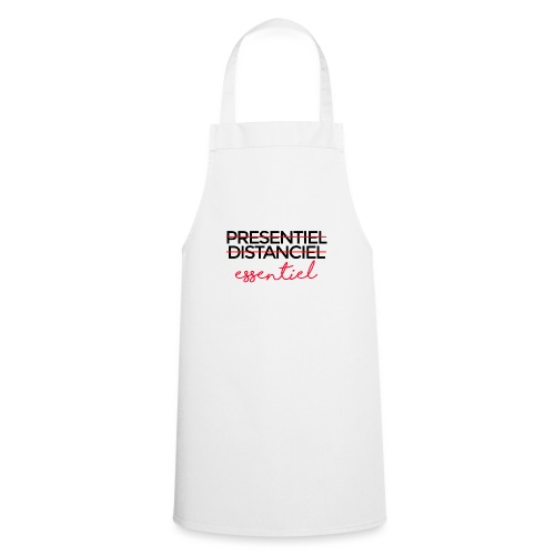 Présentiel Distanciel Essentiel - Tablier de cuisine
