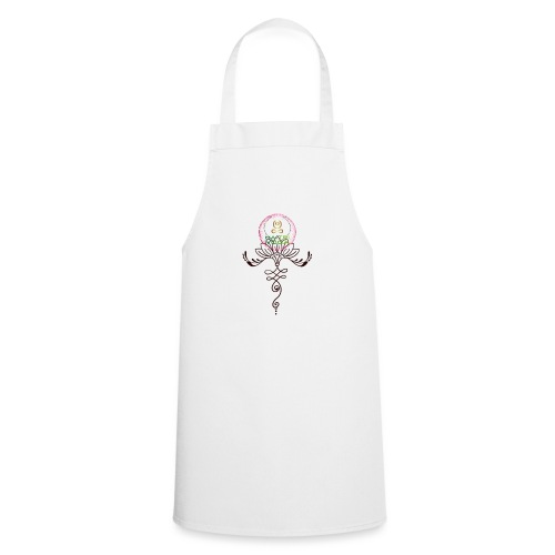 Lotus Unalome MaitriYoga - Tablier de cuisine