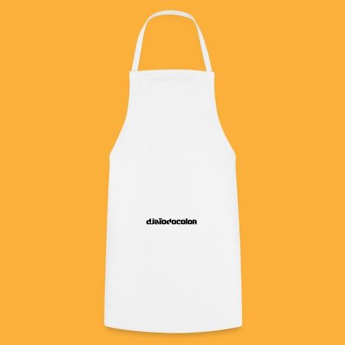 DJATODOCOLOR LOGO NEGRO - Delantal de cocina