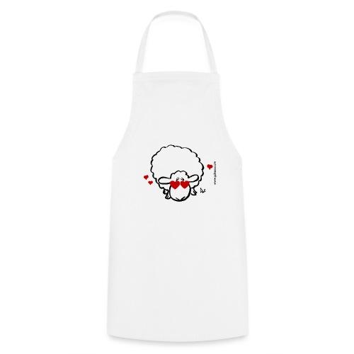 Augen-Liebes-Mutterschaf - Kochschürze