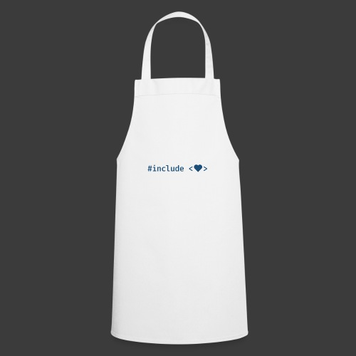 Blue Include Heart - Cooking Apron