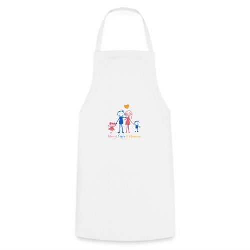 mama papa kinderen - Keukenschort
