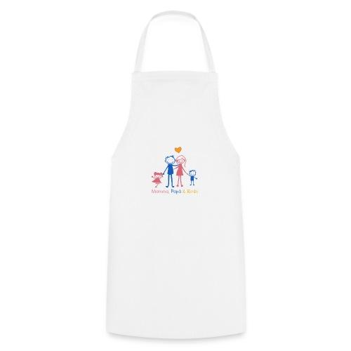 mamma papa bimbi - Grembiule da cucina