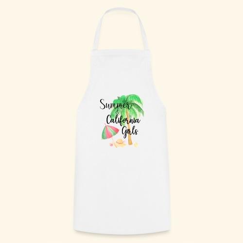 California Girl at Beach - Kochschürze