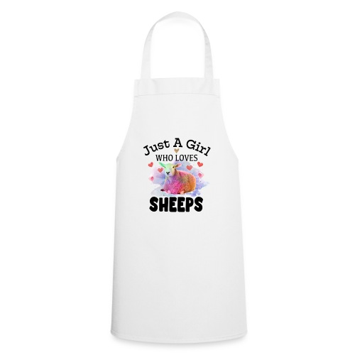 Just A Girl Who Loves Sheeps - Cooking Apron