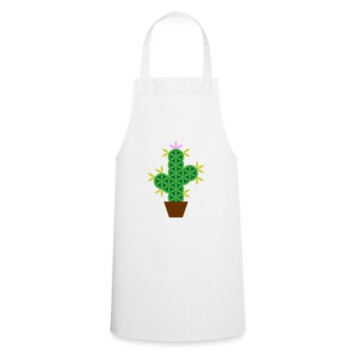 The Cactus Of Life - Sacred Plants - Cooking Apron