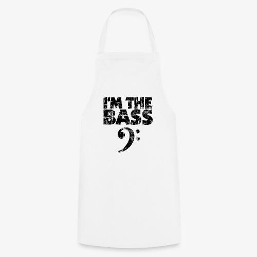 I'm the Bass Vintage Black (Clef) - Kochschürze