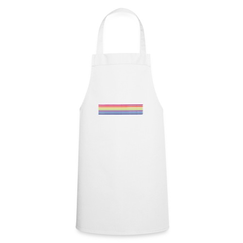 Colored lines - Cooking Apron